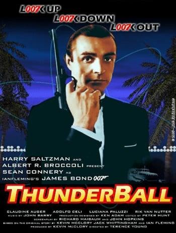 James Bond 007 Thunderball (1965) เจมส์ บอนด์ 007 ภาค 4